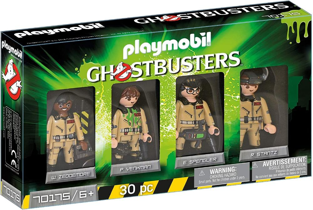 Playmobil 70175 Ghostbusters 4 Characters Collector's Set